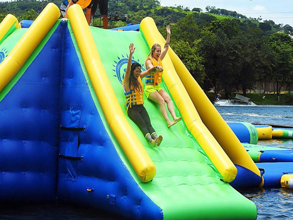 Bouncia -Inflatable Floating Water Park Games For Adults With Tuv Certificate |-22