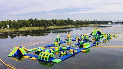 Italy Big Water Park Games-Bouncia