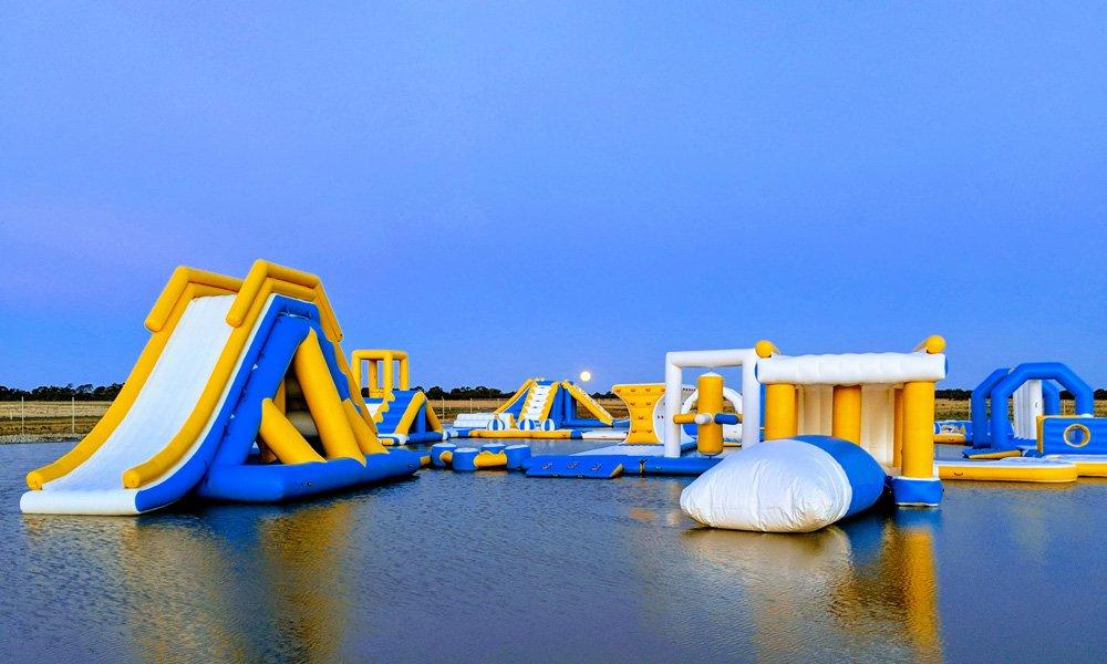 2019 New Inflatable Commercial Water Splash Park In Australia