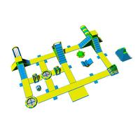 Harrison Giant Inflatable Water Park Games Manufacturer