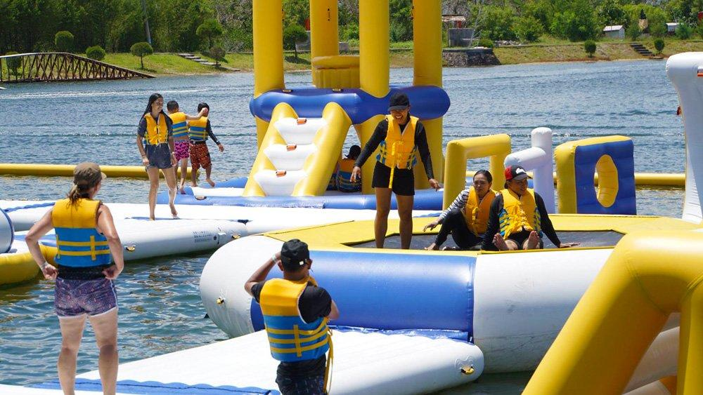 Custom floating water inflatables harrison company for adults