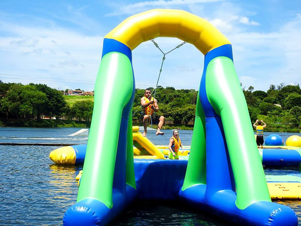 Bouncia Latest at home inflatable water slides customized for outdoors-32