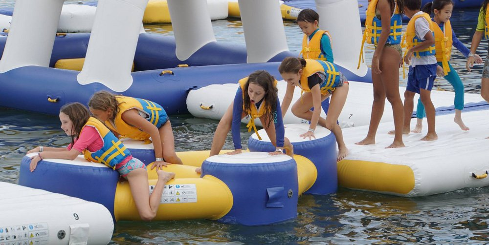Bouncia floating inflatable water playground factory price for kids-16