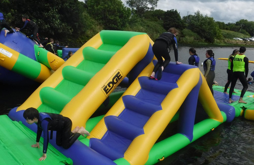 Bouncia certificated cool blow up water slides factory price for outdoors-19