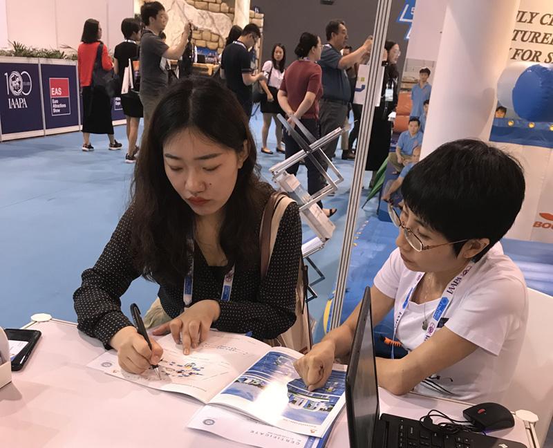 Bouncia -Bouncia at IAAPA Asia Hongkong - Bouncia Inflatables-1