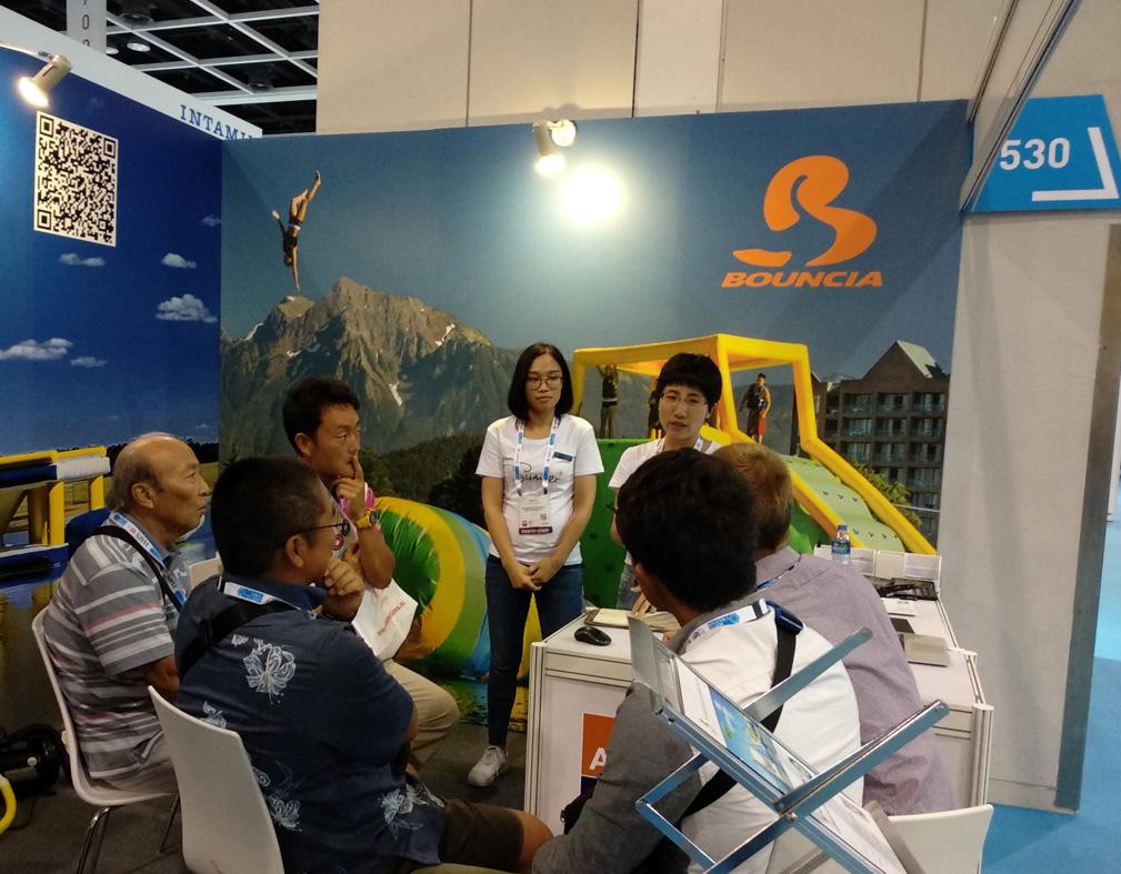 Bouncia -Bouncia at IAAPA Asia Hongkong - Bouncia Inflatables-3