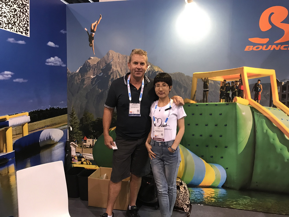 Bouncia -Bouncia at IAAPA Asia Hongkong - Bouncia Inflatables-4