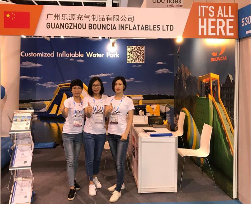 Bouncia -Bouncia at IAAPA Asia Hongkong - Bouncia Inflatables-5