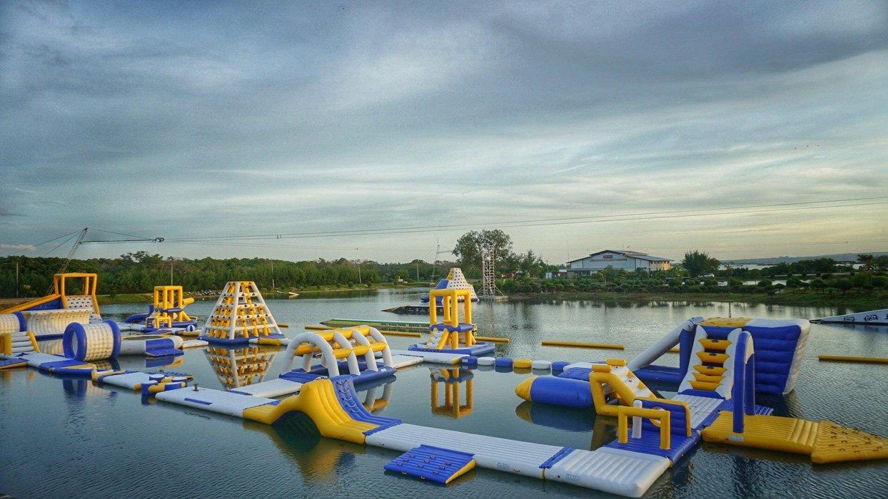 BALI Giant Inflatable Floating Water Parks Manufacturer