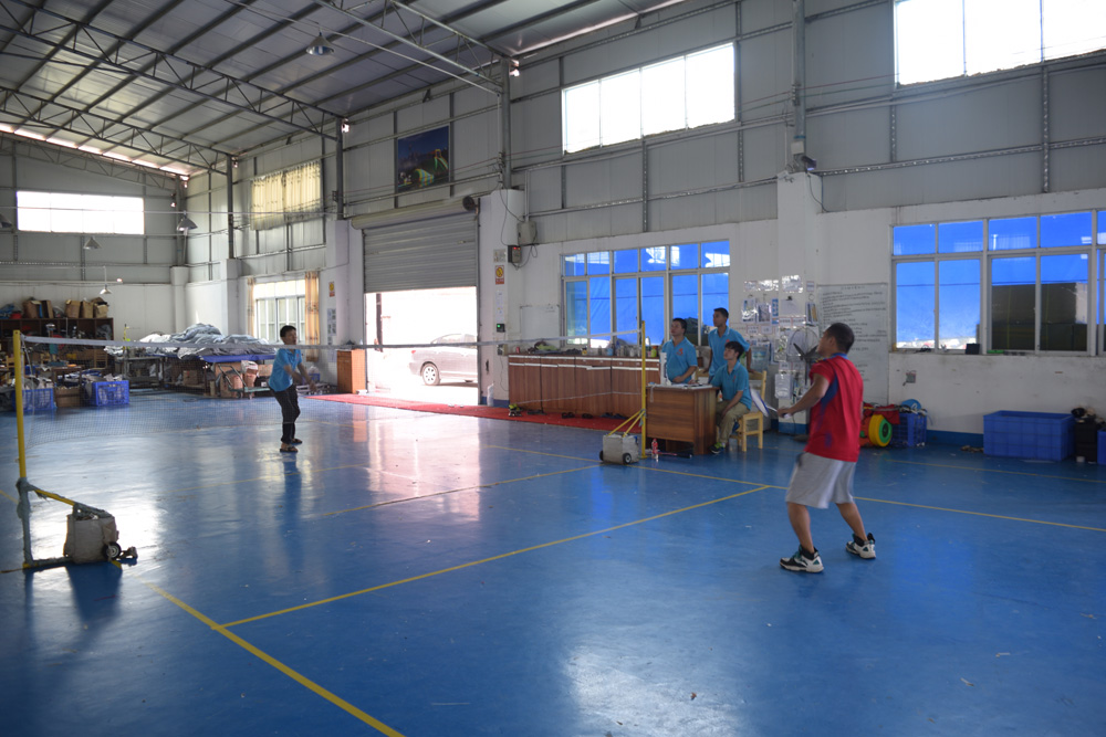 Bouncia -Read Basket ball match during factory sports meeting News On Bouncia Inflatables-3