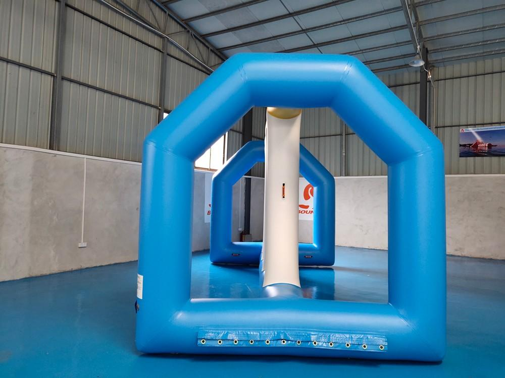 awesome aqua fun park jumping platform customized for kids-2