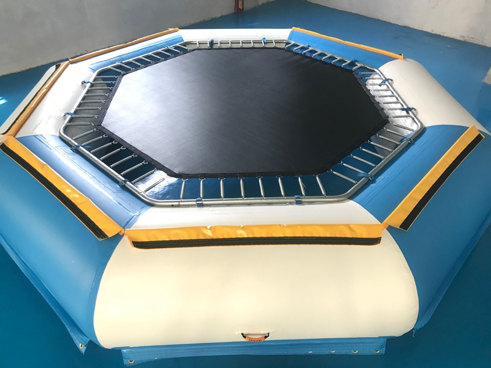 Bouncia -Best Inflatable Water Fun Tuv Inflatable Floating Water Trampoline For-3