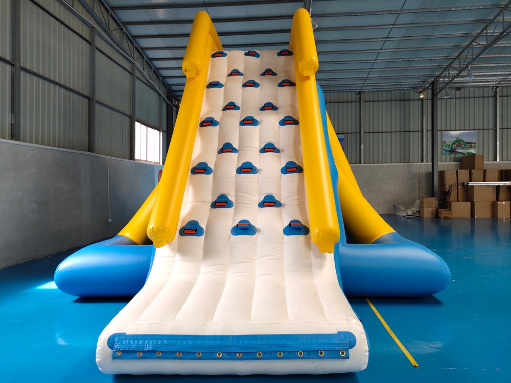 Bouncia -High Quality Aqua Park Inflatable Floating Water Slide Factory