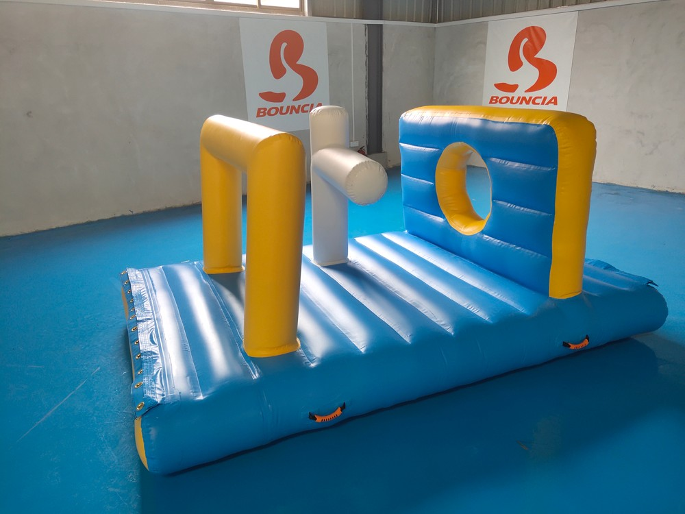 Bouncia tarpaulin inflatable floating water park for sale for business for pool-2
