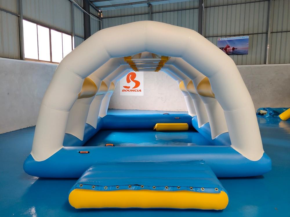 Bouncia ramp water games manufacturers for kids