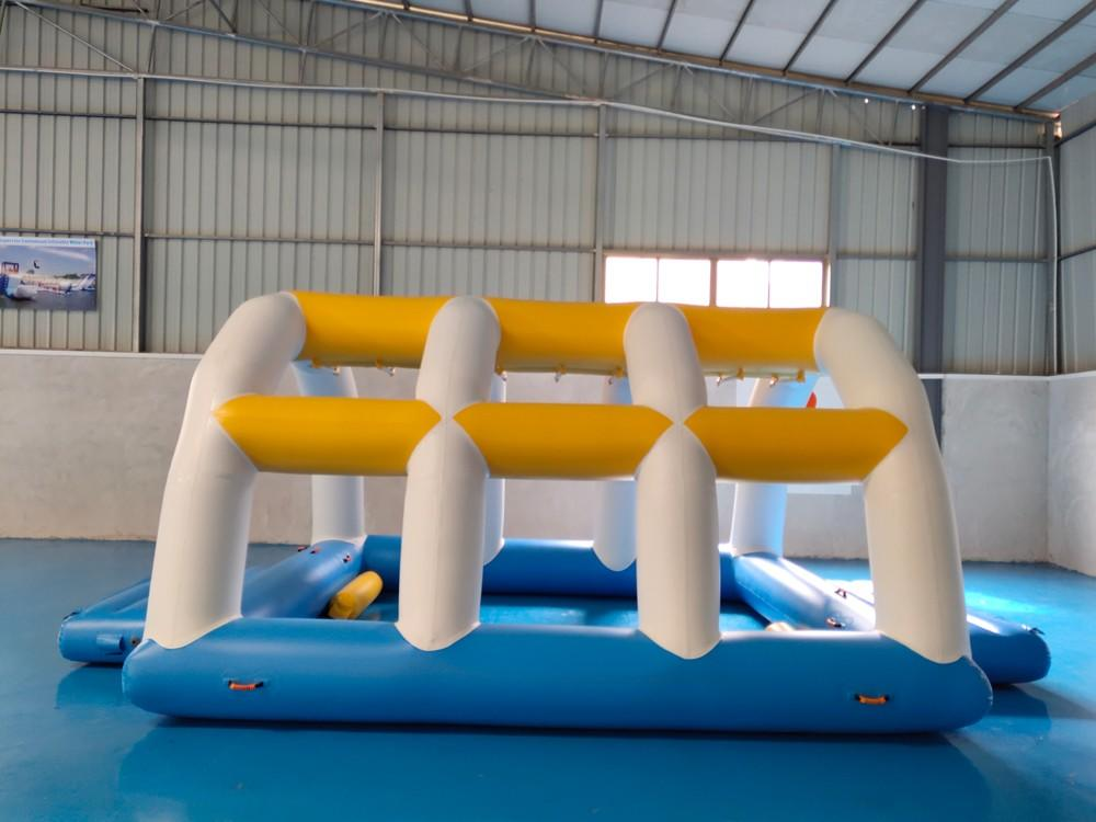 park big inflatable water games certiifcate Bouncia Brand company
