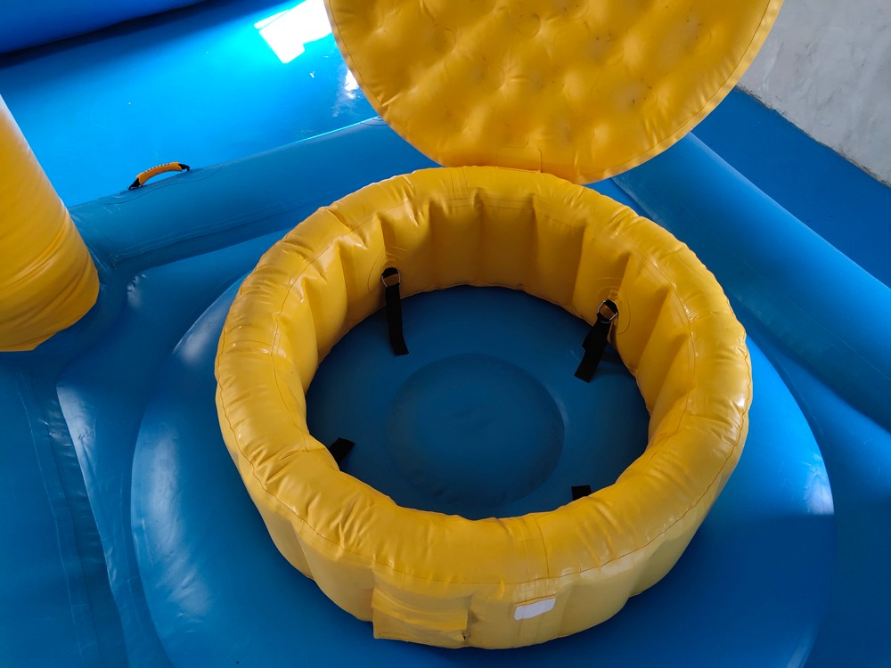 Bouncia climbing lake inflatables manufacturer for pool-3
