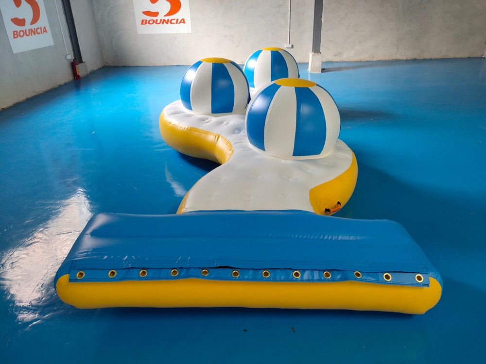 Bouncia climbing inflatable water park games for pool-1