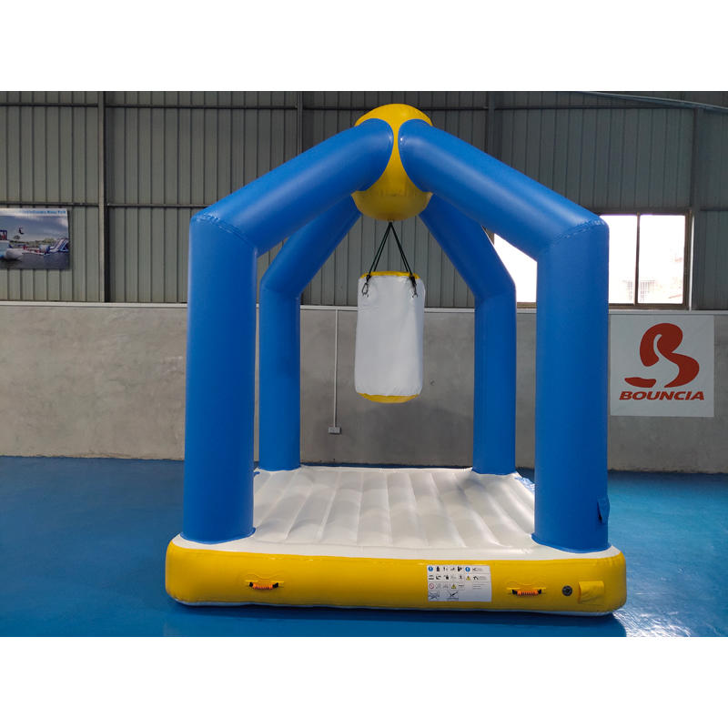 stable inflatable water playground guard tower for kids