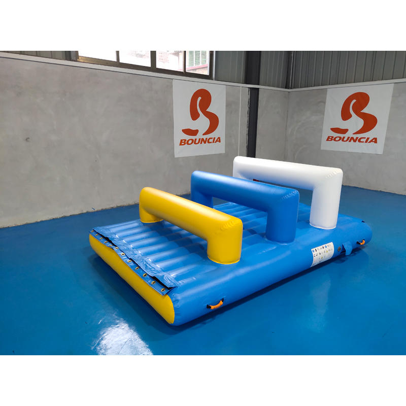 Bouncia tuv large inflatable water slides manufacturers for pool