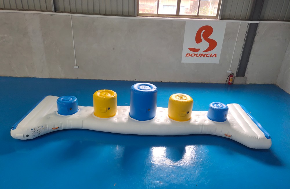 Bouncia tarpaulin best inflatable water slide manufacturer for pool-1