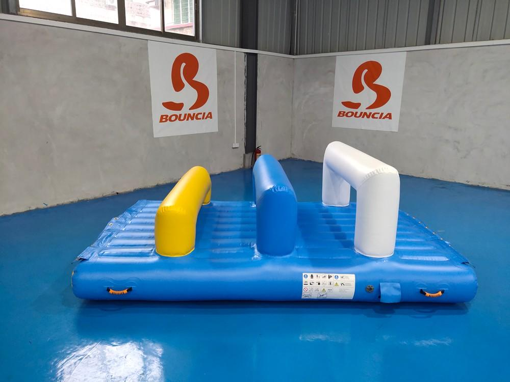 caps certiifcate swimming inflatable water games Bouncia Brand company