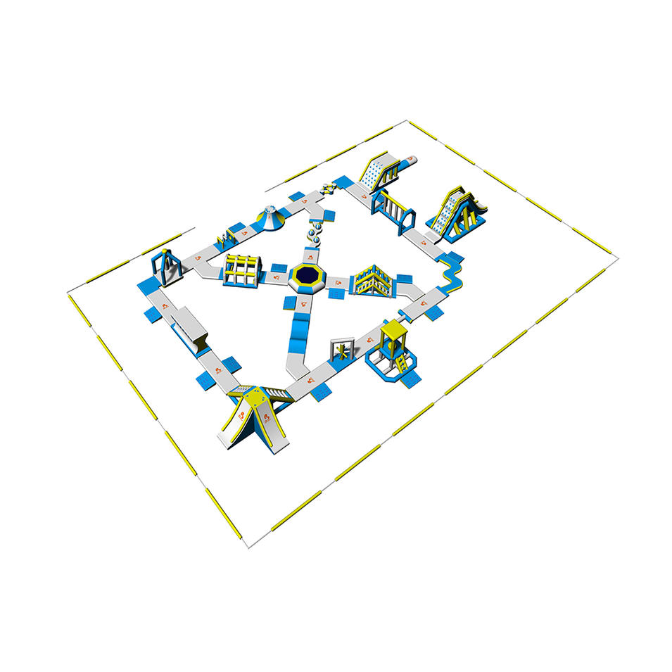 Bouncia Inflatable Water Park Games For Open Water