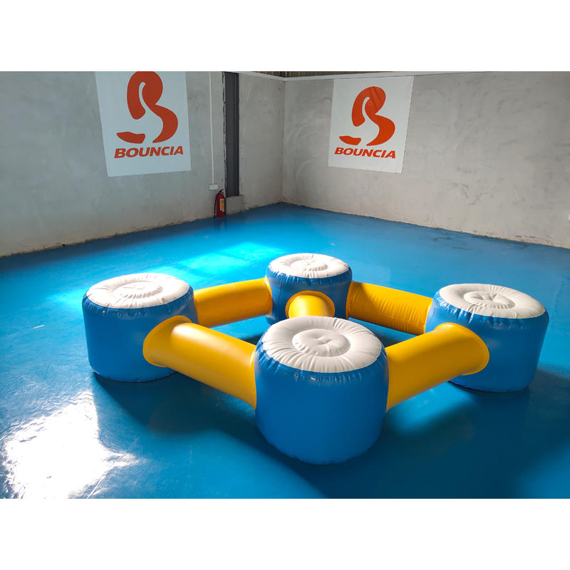 Inflatable Floating Water Obstacle Course For Pool