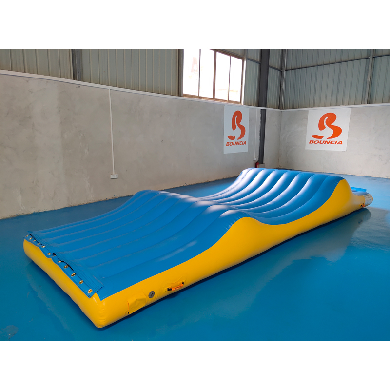 Bouncia -inflatable water park for sale   Mini Inflatable Water Park   Bouncia