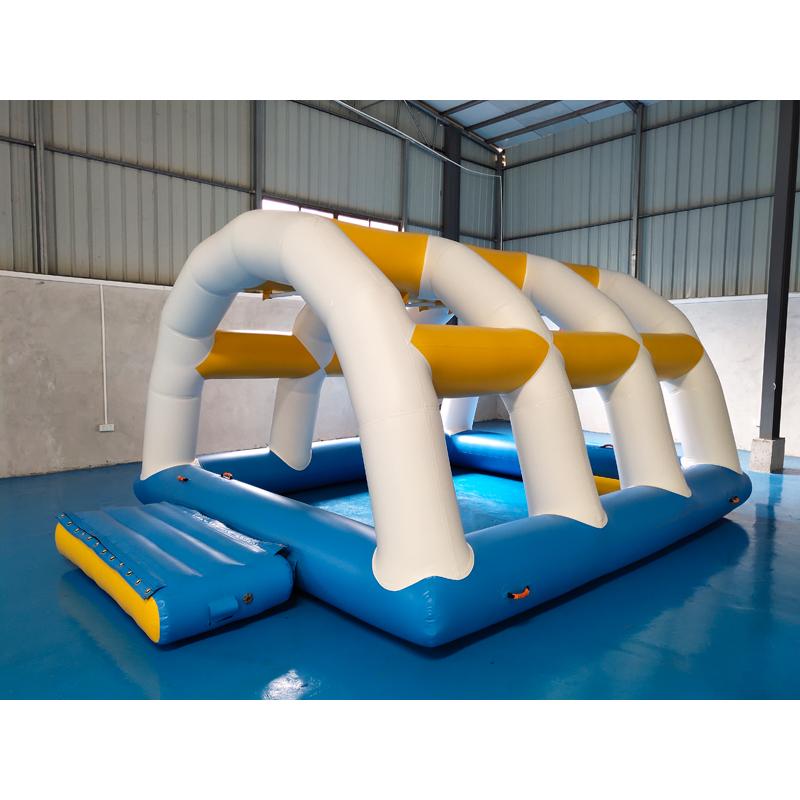 Bouncia -mini inflatable water park ,inflatable backyard water park | Bouncia