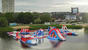 165 Capacity New Floating Inflatable Water Park In Tartu Estonia
