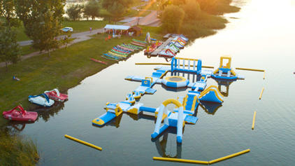 Hungary Inflatable Water Sport Park