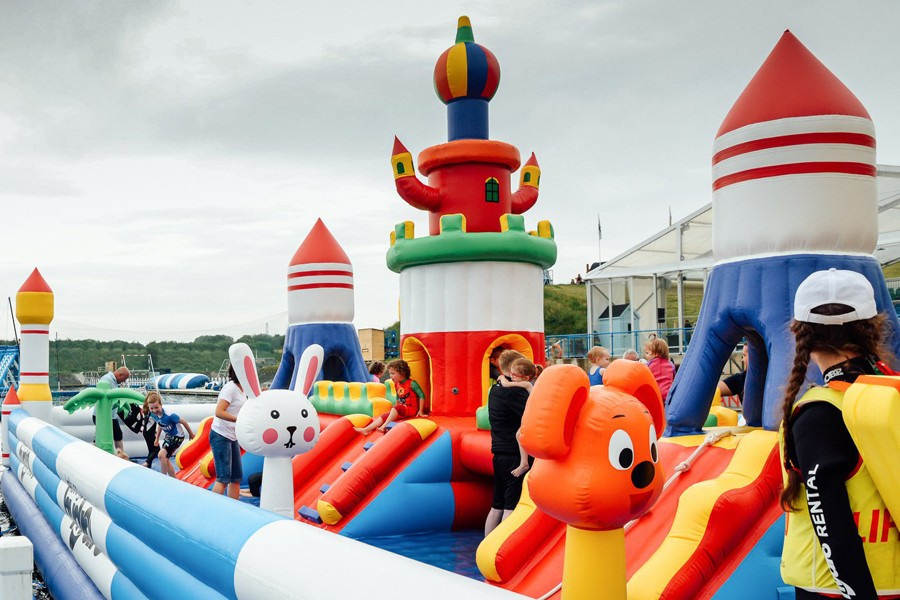 Wholesale inflatable water slide prices manufacturers for toddler-2