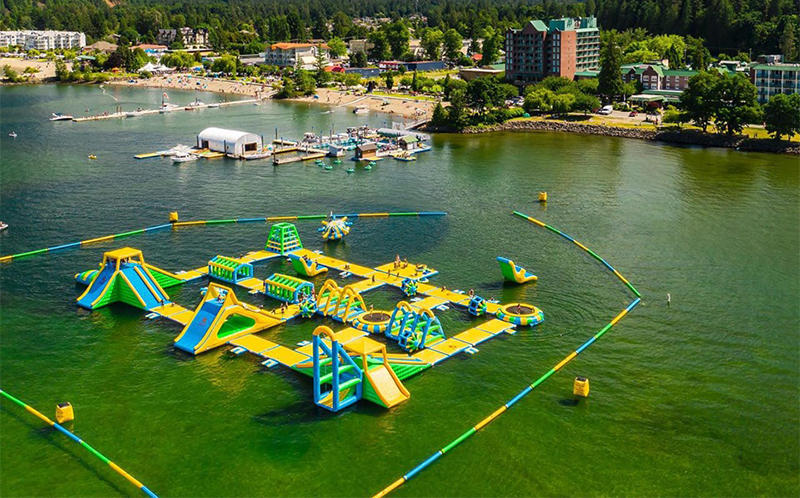 Harrison New Floating Water Park Manufacturer