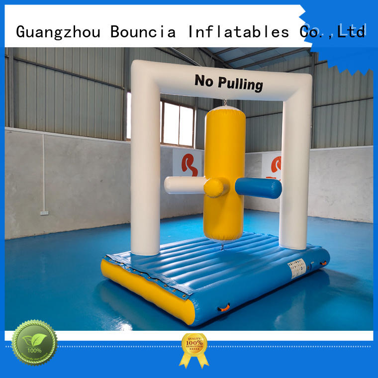 double inflatable assault course from China for adults