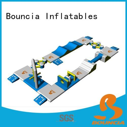stable inflatable aqua park obstacle customized for pools