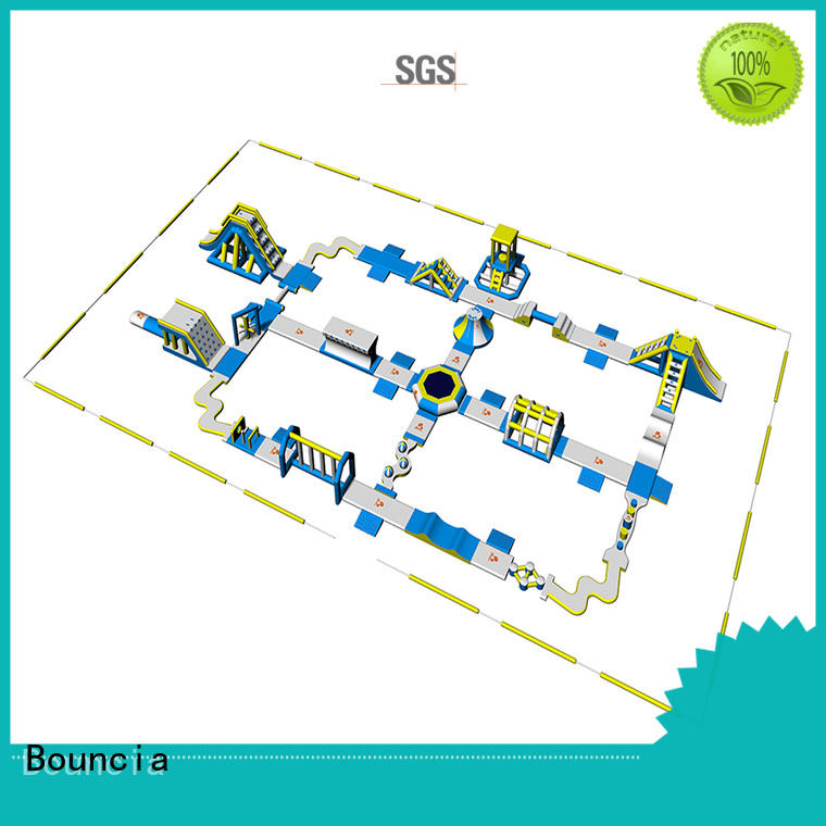 Bouncia stable outdoor water park manufacturer for outdoors