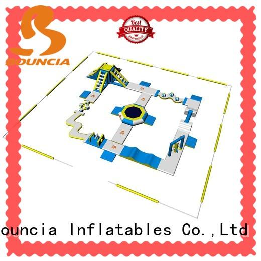 Bouncia tuv best inflatable water slide factory price for adults