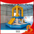 Bouncia games inflatable slip and slide for business for pool