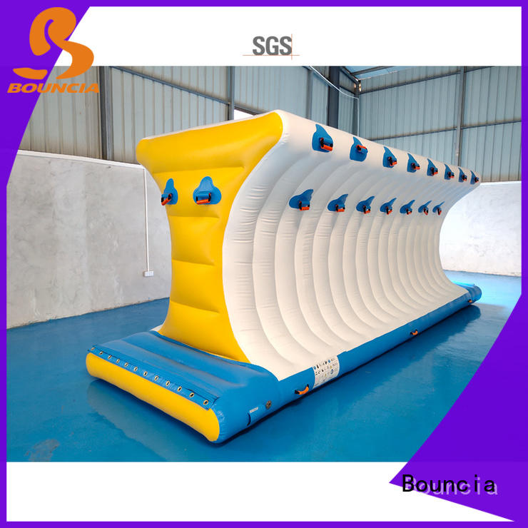 slide inflatable water obstacle course tarpaulin for kids Bouncia