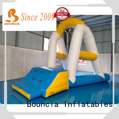 Bouncia floating inflatable water games customized for adults