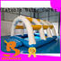 Bouncia climbing inflatable water world Suppliers for pool