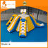 Bouncia grade water obstacle course for sale customized for outdoors