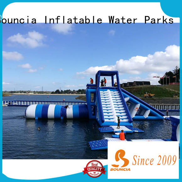 Bouncia jump inflatable water slides company for outdoors