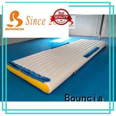 Bouncia floating aqua inflatables from China for pool