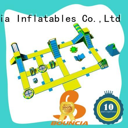 Bouncia Latest best inflatable water park manufacturers for outdoors