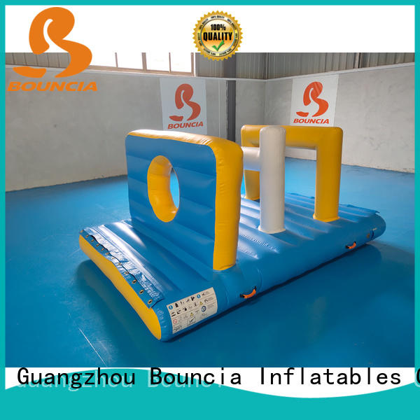 jumping platform inflatable water park equipment customized for outdoors Bouncia