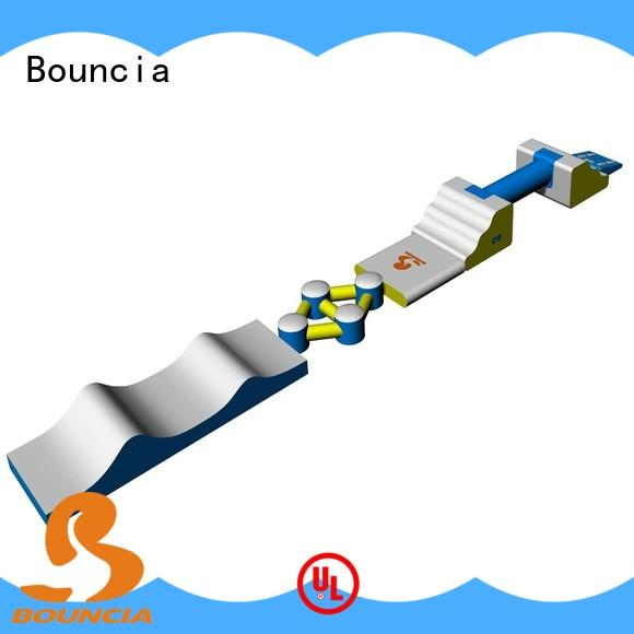 Bouncia obstacle outdoor water inflatables from China for lake