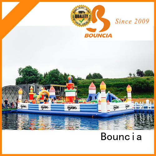 popular inflatable water slide for lake factory for kids