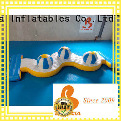 stable inflatable pool slide jumping platform manufacturers for adults